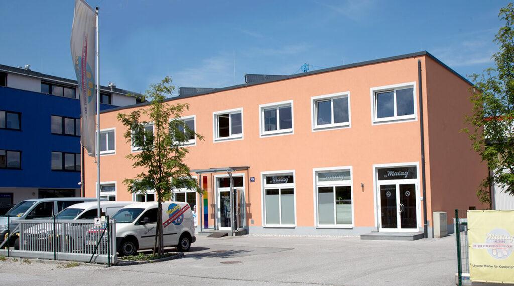 Geschäft Malag in Salzburg Wals
