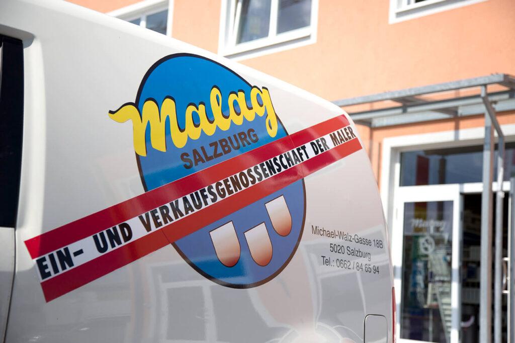 Farbenfachhandel Auto Lieferung Salzburg